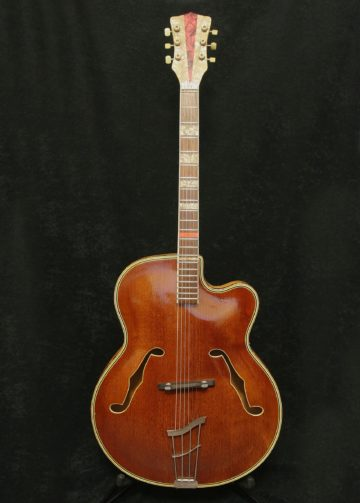 Rodebald Hoyer Jazzstar Dark Natural body front