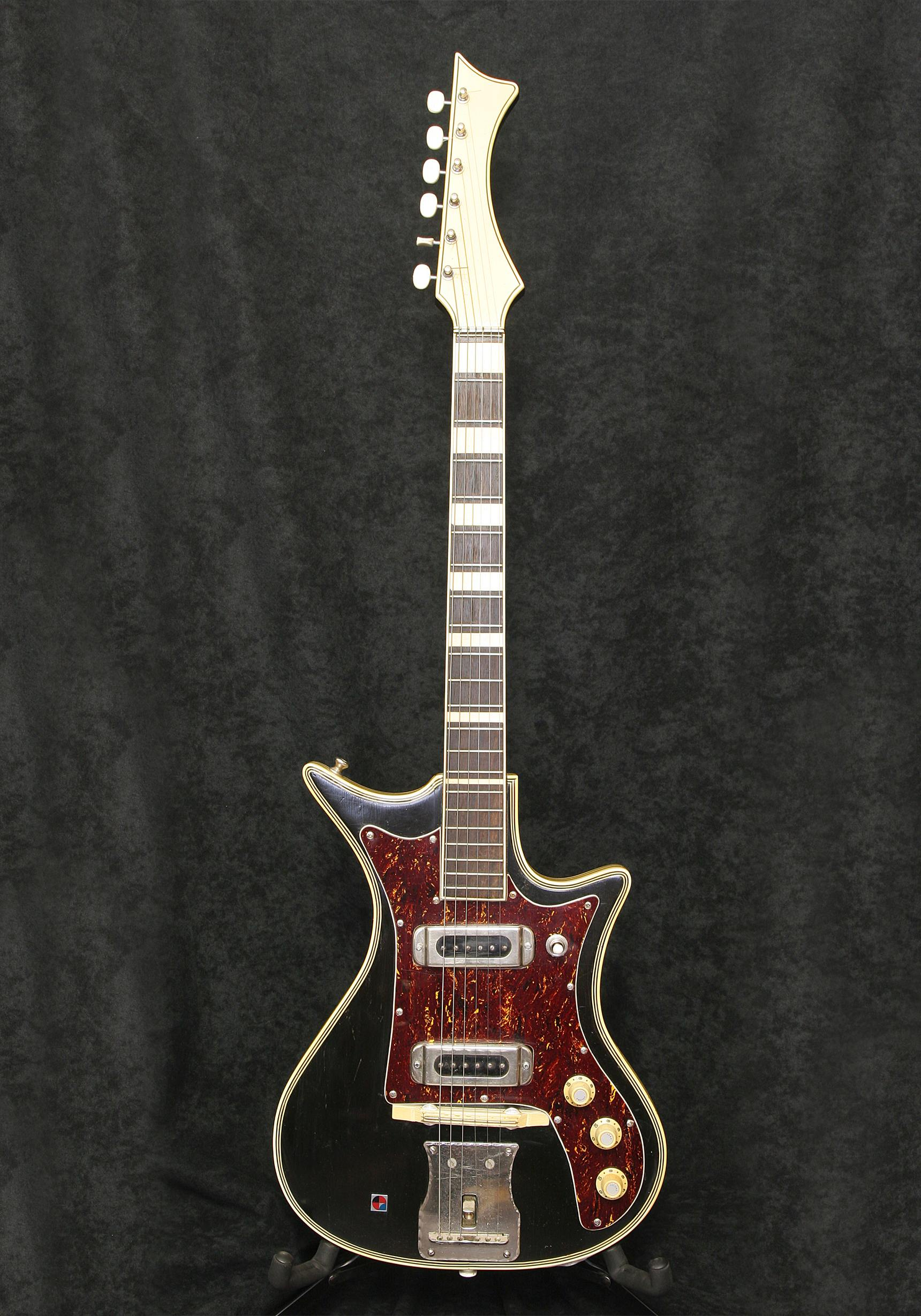 Marma Electric Guitar body front