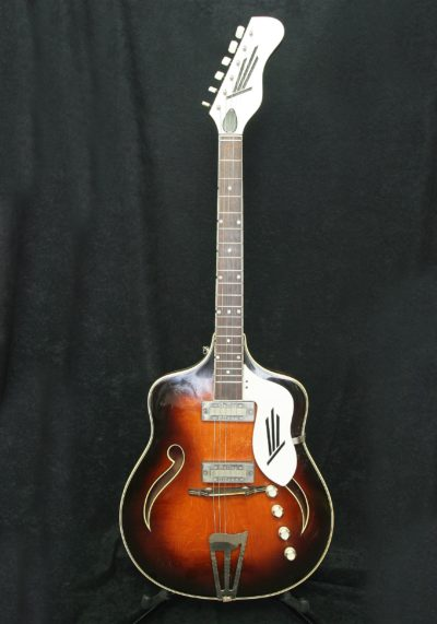 Marma Archtop body front