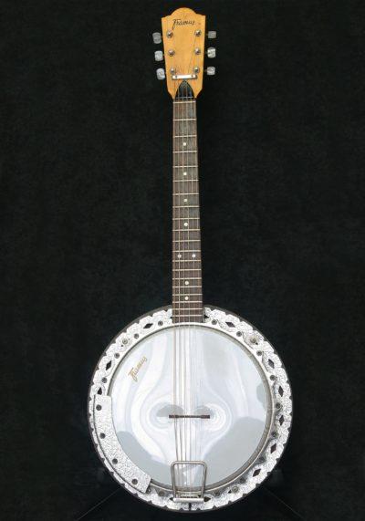 Framus Banjo Texan body front