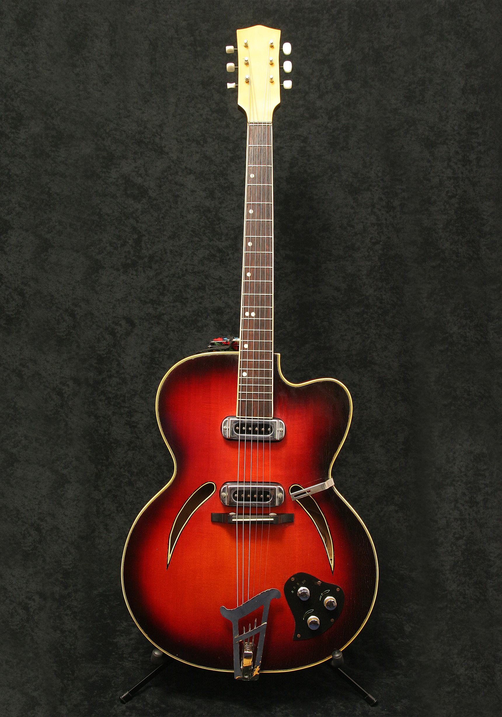 Musima Archtop body front