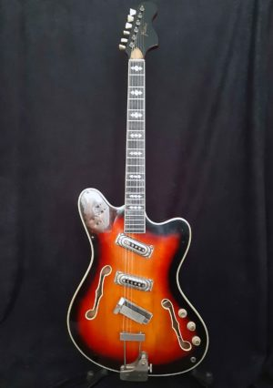 Framus Television 5/118-52 body front