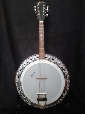 Framus Texan Banjo 8 string body front