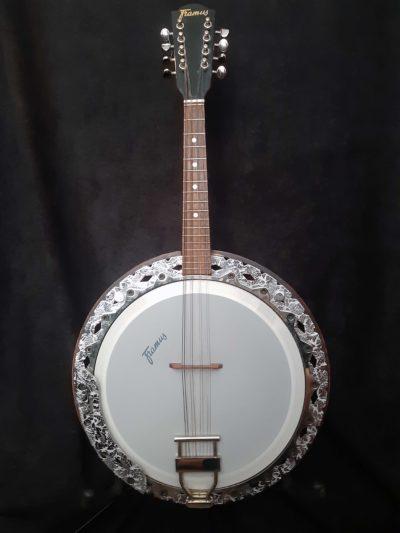 Framus Texan Banjo 8 string body front